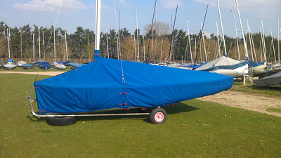 Albacore dinghy covers