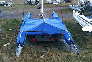 Nacra 500 catamaran covers