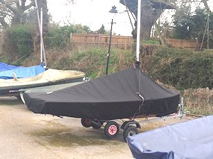 Merlin Rocket dinghy covers