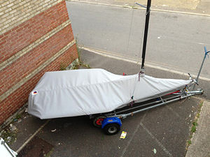 RS700 dinghy covers