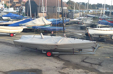 RS400 dinghy covers