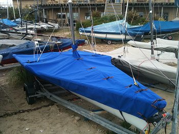 RS600 dinghy covers